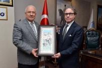 BENZERLIK - Brezilya Büyükelçisi Gradilone, Başkan Kocamaz'ı Ziyaret Etti