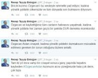 ÖZGECAN ASLAN - Cumhurbaşkanı Erdoğan 'Özgecan Aslan'ı Andı