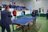 İSKENDER YÖNDEN - Didim Masa Tenisi Çeyrek Final Maçlarına Ev Sahipliği Yaptı