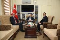 DSİ Trabzon Bölge Müdürü Kasap, Vali İsmail Ustaoğlu'nu Ziyaret Etti