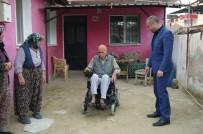 AKÜLÜ ARABA - Engelli Vatandaşın İmdadına Başkan Karaçoban Yetişti