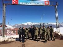 Korgeneral Çetin'den Üzümlü Sınır Kapısına Ziyaret