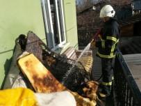 HEKİMHAN - Malatya'da Ev Yangınları