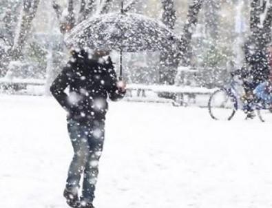 Meteoroloji kar yağışı için saat verdi