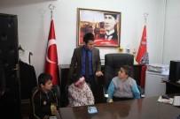 EMNİYET AMİRİ - Minik Öğrenciler Sason Emniyet Amirliğini Gezdi
