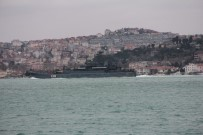 DENİZ POLİSİ - Rus Savaş Gemisi İstanbul Boğazı'ndan Geçti