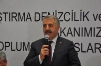 Ulaştırma Bakanı Arslan, STK'lar Ve Kanaat Önderleriyle Bir Araya Geldi