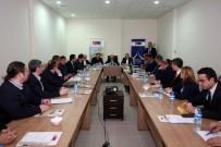 Vali Ustaoğlu Başkanlığında Doğal Taş Bilgilendirme Toplantısı Yapıldı