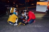 AKARYAKIT İSTASYONU - Antalya'daki Trafik Kazalarında 2 Kişi Yaralandı