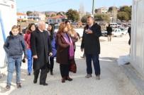 Burhaniye Belediyesinden Depremzedelere Yardım