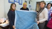 Burhaniye' De Kadınlar Kırkyamaya Merak Sardı