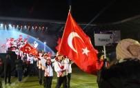 SEYFETTIN AZIZOĞLU - Erzurum EYOF 2017 Görkemli Törenle Başladı