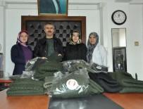MEHMET NURİ ÇETİN - Göynük Belediyesinden Muş'taki Askerlere Atkı
