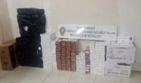 Kahramanmaraş'ta 4 Bin Paket Kaçak Sigara Ele Geçirildi