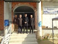CAMİİ - Kaymakam Sürücü, Külliye Ve Cami İnşaatını İnceledi