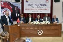 ESNAF VE SANATKARLAR ODALARı BIRLIĞI - Maliye Bakanı Naci Ağbal Gümüşhane'de İşverenlerle Buluştu