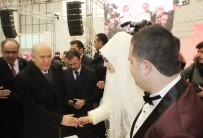 KONYA TICARET ODASı - MHP Lideri Bahçeli, Konya'da Düğüne Katıldı