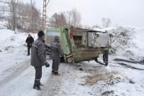 KIŞ MEVSİMİ - Muş Belediyesinden Kar Temizleme Çalışması