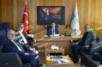 ÇALIŞMA BAKANLIĞI - STB Başkanı Hastoğlu'ndan, İşkur İl Müdürü Canpolat'a Ziyaret