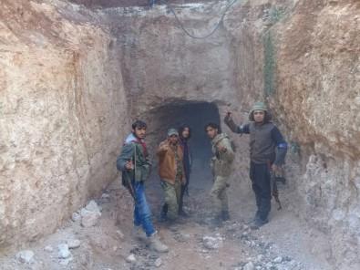 Teröristlerin gizli tüneli ortaya çıktı