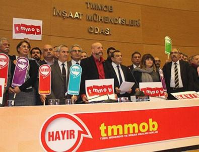 TMMOB referandum kararını açıkladı