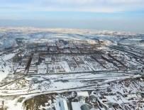 3. HAVALİMANI - 3. havalimanında çalışmalar kar kış demeden sürüyor