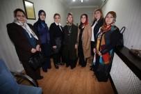 EBRU SANATı - Bakan Soylu'nun Eşi Hamdiye Soylu Belediyenin Sosyal Ve Kültürel Çalışmalarını İnceledi