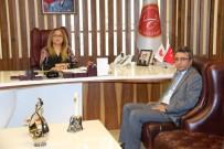 MURAT ÖZTÜRK - Derinkuyu Kaymakamı Öztürk Rektör Kılıç'ı Ziyaret Etti