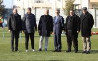 SAIT KARAFıRTıNALAR - Emniyet Müdürü Bilgiç'ten Manisaspor'a Ziyaret