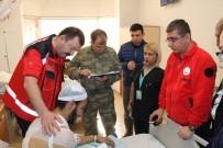 SAĞLıK BAKANı - Genel Müdürü Dr. Aydınlık, Yaralı Askerleri Ziyaret Etti