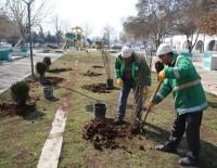 SU TESİSATI - Haliliye'de Parklar Güneşli Günlere Hazırlanıyor