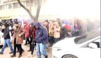 Kocaeli Üniversitesi'nde İzinsiz Eylemde Arbede Açıklaması 10 Gözaltı