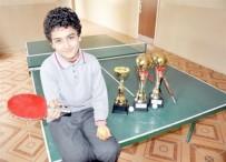 MASA TENİSİ - Malatyalı Minik Tenisçi Alican Şeker Fransa'da, Türkiye'yi Temsil Edecek