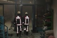SES BOMBASI - Markette Alışveriş Sırasında Molotof Ve Ses Bombalı Saldırı