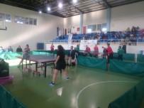 MASA TENİSİ - Masa Tenisi Çeyrek Final Müsabakaları Tamamlandı