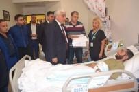 SINIR GÜVENLİĞİ - Milletvekili Dülger, Yaralı Askerleri Ziyaret Etti
