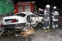 KAPAKLı - Otomobil Tır İle Çarpıştı Açıklaması 1 Yaralı
