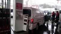 OKMEYDANı - Benzin İstasyonunda Facianın Eşiğinden Dönüldü