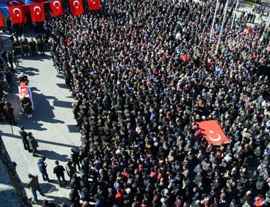 Şehit Uzman Çavuş Emin Güngör için cenaze töreni düzenlendi