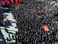 ŞEHİT CENAZESİ - Şehit Uzman Çavuş Emin Güngör için cenaze töreni düzenlendi
