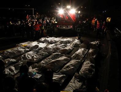 Tayvan'da feci kaza: 32 ölü