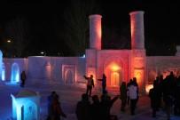 ERZURUM VALISI - Tonlarca Kar Kullanılan 'Kardan Sokak' Açıldı