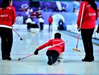 POLONYA - Türkiye'nin curlingdeki ilk zaferi