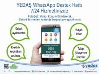 MOBİL UYGULAMA - YEDAS Whatsapp Destek Hattı Hizmette