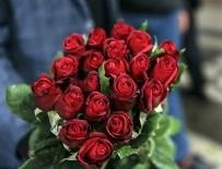 HAVA MUHALEFETİ - 14 Şubat'ta sevgililere 6 milyon adet çiçek