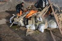 Aksaray'da 1 Ton 180 Kilo Esrar Yakılarak İmha Edildi