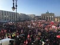 BRANDENBURG - Almanya'da Uyarı Grevleri