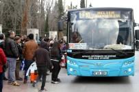 TOPLU ULAŞIM - Antalya'da Tek Tip Ulaşım Aşısı Tuttu