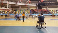 TEKERLEKLİ SANDALYE BASKETBOL - Bağcılarlı Basketbolcular 3'Te 3 Yaptı