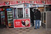 Bakkala Giren Kar Maskeli Hırsız Polisten Kaçamadı